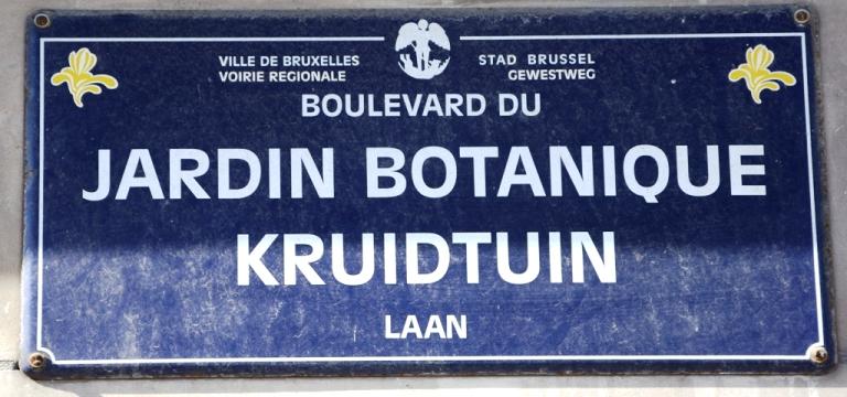 Localisation de 39 boulevard du jardin botanique 39 sur 14 for Boulevard du jardin botanique bruxelles