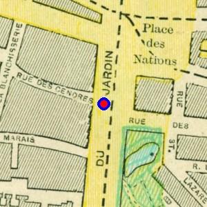 Localisation de 39 boulevard du jardin botanique 39 sur 14 for Boulevard jardin botanique