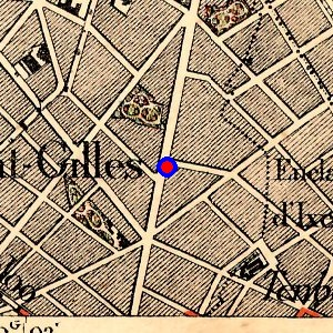 Localisation de 39 chauss e de charleroi 39 sur 7 plans de - Garage chaussee de bruxelles dampremy ...